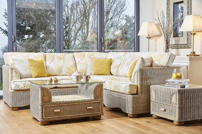 Merveilleux ... This Flexible Modular Set Is Ultra Cool And Perfect For A Large  Orangery Or Living Space. We Have Chosen The Gorgeous Millwood Camomile  Fabric By Laura ...